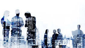 Business People Cityscape Buildings Corporate Concept Stock Images
