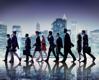 Business People Collaboration Team Teamwork Professional Concept.  Royalty Free Stock Photo