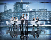 Business People Colleagues Teamwork Meeting Seminar Conference Stock Photos