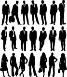 Business people collection stock images