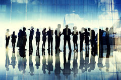 Business People Communication Corporate City Colleagues Concept Stock Photo