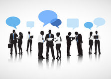 Business People Communications Discussion Partnership Concept Royalty Free Stock Image