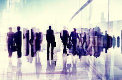 Business People Commuter City Life Busy Concept Stock Photo