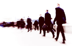 Business People Commuter Cityscape Rush Hour Concept Stock Photography