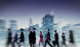 Business People Commuter Cityscape Team Concept Royalty Free Stock Photography