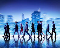 Business People Commuter Cityscape Team Concept Royalty Free Stock Image