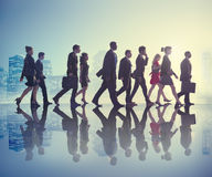 Business People Commuter Cityscape Team Concept Stock Images