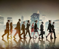 Business People Commuter Corporate City Concept Stock Photo