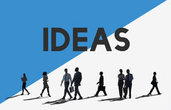 Business People Commuter Creative Ideas Concept Royalty Free Stock Images