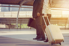 Business People Commuter Walking City Life Royalty Free Stock Image