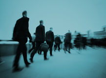 Business People Commuter Walking Travel Crowd Concept Royalty Free Stock Photo