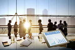 Business People Conference Brainstorming Teamwork Concept Stock Photos