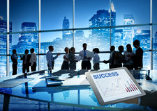 Business People Conference Brainstorming Teamwork Concept.  Royalty Free Stock Photos