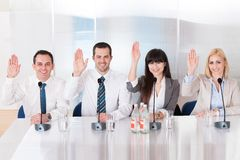 Business People In Conference Stock Photography