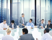 Business People Conference Meeting Boardroom Leader Concept Royalty Free Stock Image