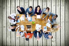Business People Conference Meeting Discussion Concept Royalty Free Stock Photo
