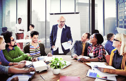Business People Conference Meeting Seminar Team Teamwork Concept royalty free stock photo