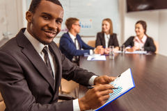 Business people conference Royalty Free Stock Images