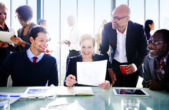 Business People In A Conference Room Royalty Free Stock Images