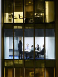 Business People In Conference Room stock images