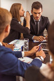 Business people conference Royalty Free Stock Photos
