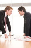 Business people conflicting. Royalty Free Stock Images