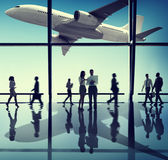 Business People Corporate Airport Concepts Royalty Free Stock Images