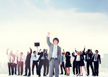 Business People Corporate Celebration Success Concept Stock Image