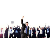 Business People Corporate Celebration Success Concept.  Stock Photos