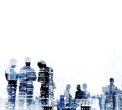 Business People Corporate Connection Discussion Meeting Concept Royalty Free Stock Photography