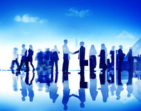 Business People Corporate Connection Greeting Handshake Concept Royalty Free Stock Photography
