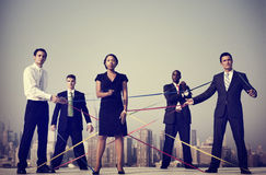 Business People Corporate Connection Team Concepts Stock Photography