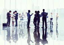 Business People Corporate Discussion Meeting Brainstorming Conce. Pt Royalty Free Stock Photos
