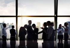 Business People Corporate Discussion Meeting Team Concept Royalty Free Stock Image
