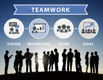 Business People Corporate Meeting Connection Teamwork Concept Stock Photo