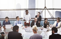 Business People Corporate Meeting Presentation Communication Con royalty free stock photography