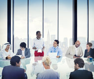 Business People Corporate Meeting Presentation Concept Royalty Free Stock Image