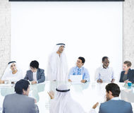 Business People Corporate Meeting Presentation Corporate Concept Royalty Free Stock Photo