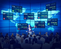 Business People Corporate Stock Exchange Concepts Royalty Free Stock Image