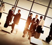 Business People Corporate Team Discussion Meeting Concept Stock Image