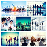 Business People Corporate Travel Collection Concept Stock Images