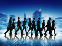 Business People Corporate Travel Walking City Concept Royalty Free Stock Photos