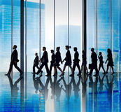 Business People Corporate Travel Walking Office Concept Royalty Free Stock Photos