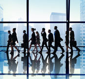 Business People Corporate Travel Walking Office Concept Royalty Free Stock Images
