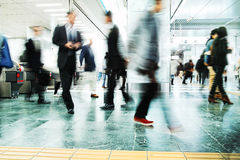 Business People Corporate Walking Commuting City Royalty Free Stock Photography