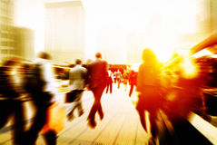 Business People Corporate Walking Commuting City Concept Stock Photo