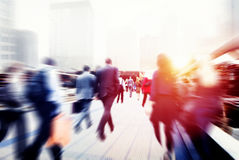 Business People Corporate Walking Commuting City Concept Royalty Free Stock Photo