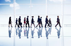 Business People Corporate Walking Office Concept Royalty Free Stock Image