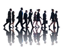 Business People Corporate Walking Travel Concepts Royalty Free Stock Photography