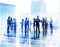 Business People Corporate White Collar Worker City Concept Royalty Free Stock Image